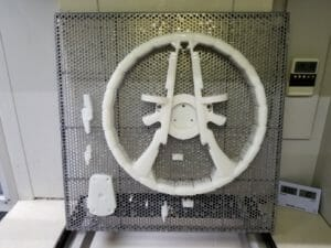 3D Printed – SLA - Somos next steering wheel for a classic car
