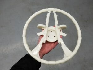 3D Printed – SLA - steering wheel for a classic car