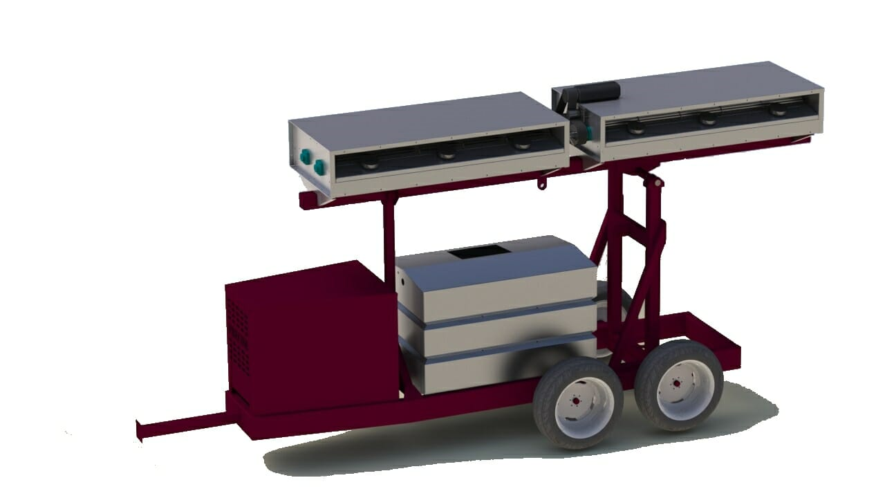 Agricultural Machinery Design : Custom agricultural heavy equipment design firm