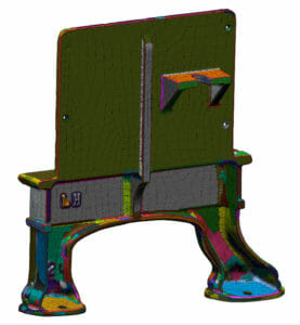 Geomagic DesignX - Laser Scan and reverse engineering - legacy casting sculpture scan data set